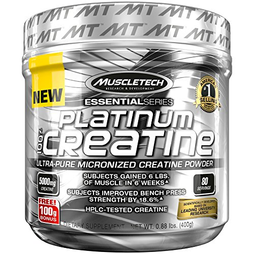 100% Platinum Creatine Muscle Tech